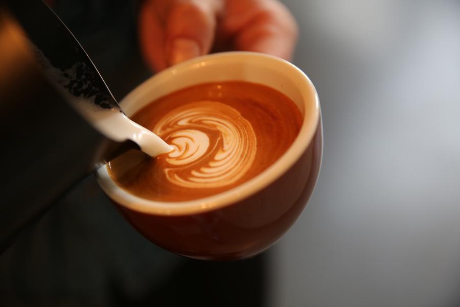 手绘手冲咖啡图片